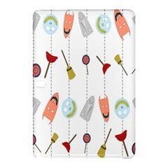 Mask Face Broom Candy Smile Helloween Samsung Galaxy Tab Pro 12.2 Hardshell Case