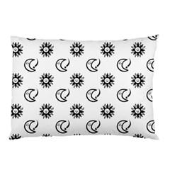 Month Moon Sun Star Pillow Case