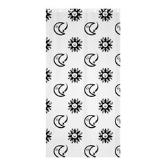 Month Moon Sun Star Shower Curtain 36  x 72  (Stall)