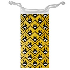 Original Honey Bee Yellow Triangle Jewelry Bag