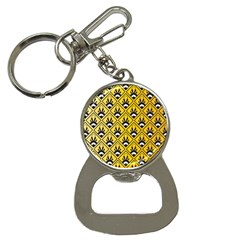 Original Honey Bee Yellow Triangle Button Necklaces