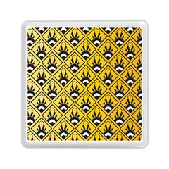 Original Honey Bee Yellow Triangle Memory Card Reader (Square)