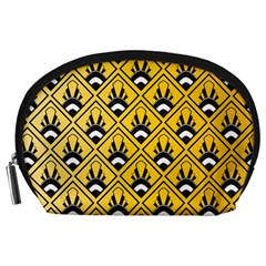 Original Honey Bee Yellow Triangle Accessory Pouches (Large)