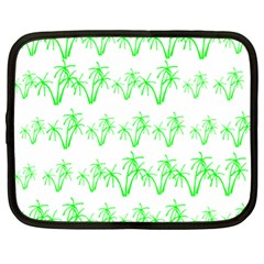 Palm Tree Coconute Green Sea Netbook Case (XL)