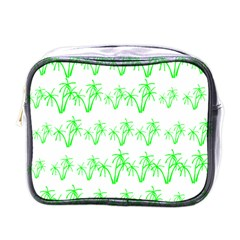 Palm Tree Coconute Green Sea Mini Toiletries Bags