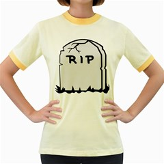 Rip Women s Fitted Ringer T Shirts