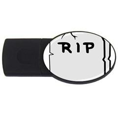 Rip USB Flash Drive Oval (1 GB)
