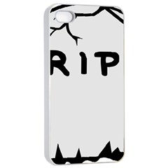 Rip Apple iPhone 4/4s Seamless Case (White)