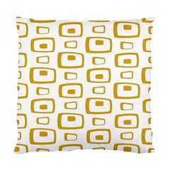 Plaid Gold Standard Cushion Case (One Side)