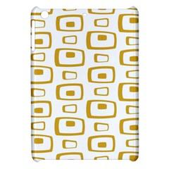 Plaid Gold Apple iPad Mini Hardshell Case