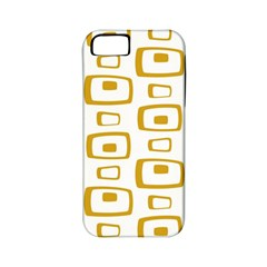 Plaid Gold Apple iPhone 5 Classic Hardshell Case (PC+Silicone)