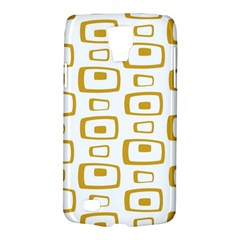Plaid Gold Galaxy S4 Active