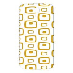 Plaid Gold Samsung Galaxy Mega I9200 Hardshell Back Case