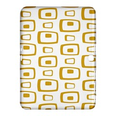 Plaid Gold Samsung Galaxy Tab 4 (10.1 ) Hardshell Case