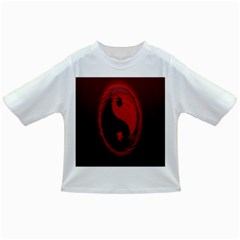 Red Black Taichi Stance Sign Infant/Toddler T-Shirts