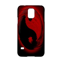 Red Black Taichi Stance Sign Samsung Galaxy S5 Hardshell Case