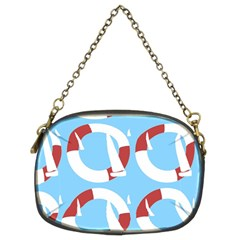 Sail Summer Buoy Boath Sea Water Chain Purses (Two Sides)