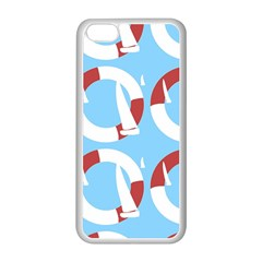 Sail Summer Buoy Boath Sea Water Apple Iphone 5c Seamless Case (white)