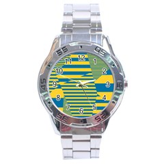 Prime Line Stainless Steel Analogue Watch