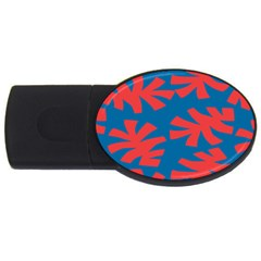 Simple Tropical Original USB Flash Drive Oval (1 GB)