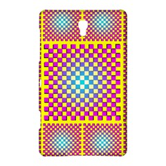 Rotational Plaid Purple Blue Yellow Samsung Galaxy Tab S (8.4 ) Hardshell Case