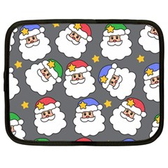 Santa Claus Face Mask Crismast Netbook Case (XXL)