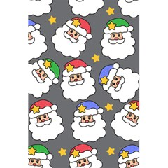 Santa Claus Face Mask Crismast 5.5  x 8.5  Notebooks