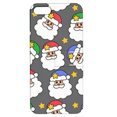 Santa Claus Face Mask Crismast Apple iPhone 5 Hardshell Case with Stand