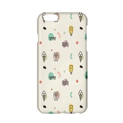 Slippers Lamp Glasses Ice Cream Grey Wave Water Apple iPhone 6/6S Hardshell Case