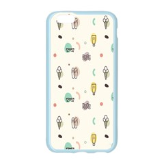Slippers Lamp Glasses Ice Cream Grey Wave Water Apple Seamless iPhone 6/6S Case (Color)