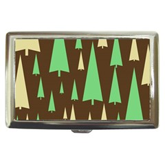 Spruce Tree Grey Green Brown Cigarette Money Cases