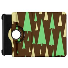 Spruce Tree Grey Green Brown Kindle Fire HD 7