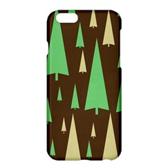 Spruce Tree Grey Green Brown Apple iPhone 6 Plus/6S Plus Hardshell Case
