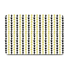 Triangle Green Black Yellow Plate Mats