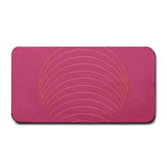 Tumblr Static Pink Wave Fingerprint Medium Bar Mats