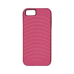 Tumblr Static Pink Wave Fingerprint Apple iPhone 5 Classic Hardshell Case (PC+Silicone)