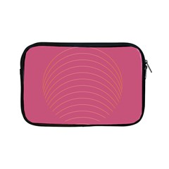 Tumblr Static Pink Wave Fingerprint Apple iPad Mini Zipper Cases