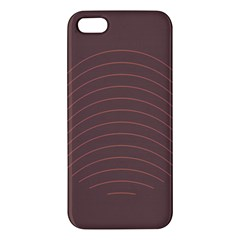 Tumblr Static Wave Grey Fingerprint Iphone 5s/ Se Premium Hardshell Case