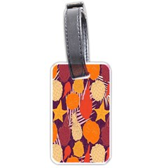 Tropical Mangis Pineapple Fruit Tailings Luggage Tags (One Side)