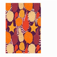 Tropical Mangis Pineapple Fruit Tailings Large Garden Flag (Two Sides)