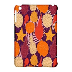 Tropical Mangis Pineapple Fruit Tailings Apple iPad Mini Hardshell Case (Compatible with Smart Cover)