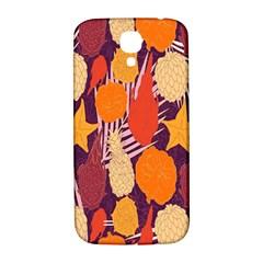 Tropical Mangis Pineapple Fruit Tailings Samsung Galaxy S4 I9500/I9505  Hardshell Back Case