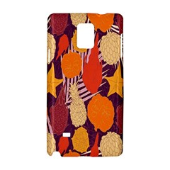Tropical Mangis Pineapple Fruit Tailings Samsung Galaxy Note 4 Hardshell Case