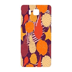 Tropical Mangis Pineapple Fruit Tailings Samsung Galaxy Alpha Hardshell Back Case
