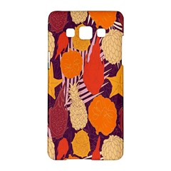 Tropical Mangis Pineapple Fruit Tailings Samsung Galaxy A5 Hardshell Case