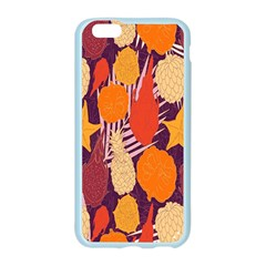 Tropical Mangis Pineapple Fruit Tailings Apple Seamless iPhone 6/6S Case (Color)