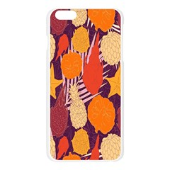 Tropical Mangis Pineapple Fruit Tailings Apple Seamless iPhone 6 Plus/6S Plus Case (Transparent)