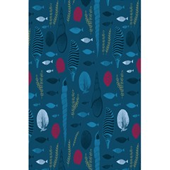 Sea World Fish Ccoral Blue Water 5.5  x 8.5  Notebooks