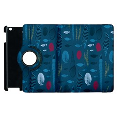 Sea World Fish Ccoral Blue Water Apple iPad 3/4 Flip 360 Case