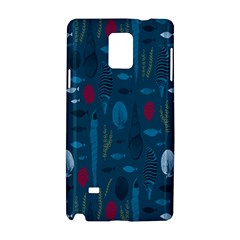 Sea World Fish Ccoral Blue Water Samsung Galaxy Note 4 Hardshell Case